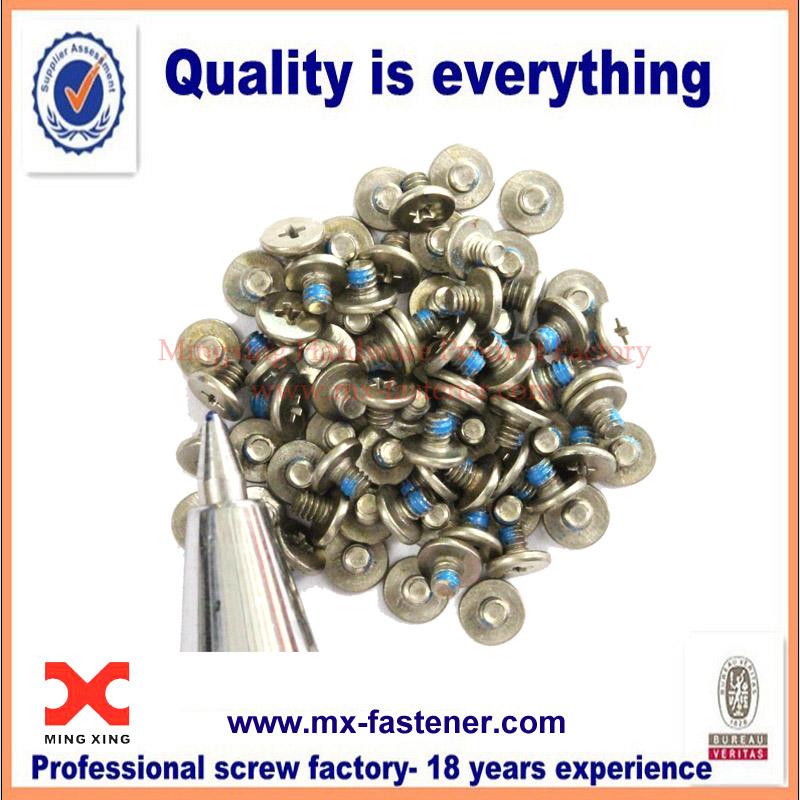 Miniature nylock drop-resistant screws manufacturer