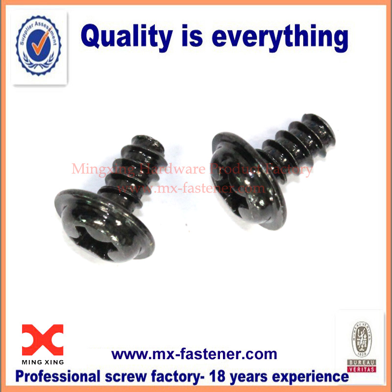 Pan Washer Head Small Metric Screws For Plastic