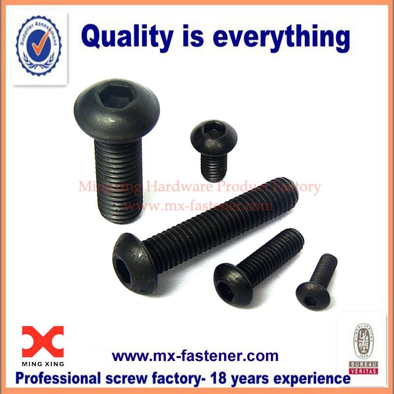 China manufacturer round hex socket bolts
