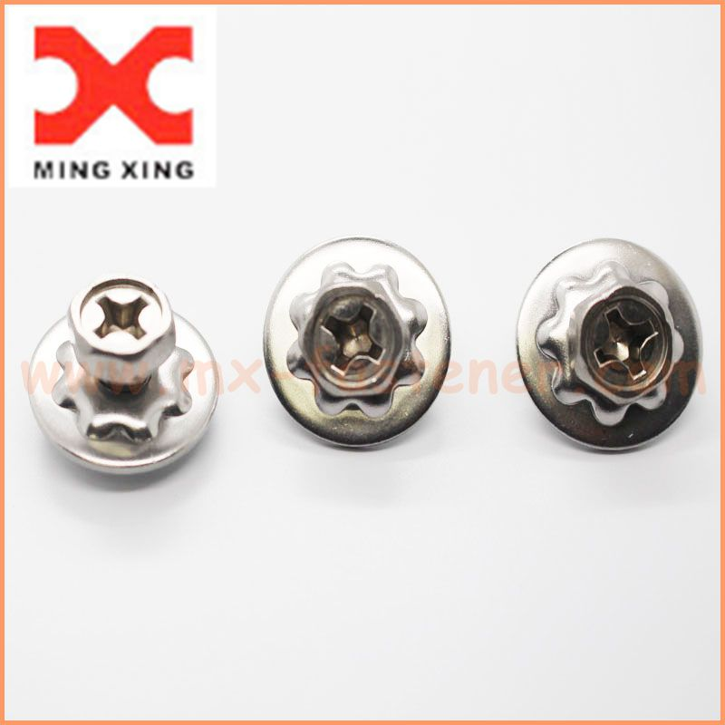stainless steel Crest cup washer screw