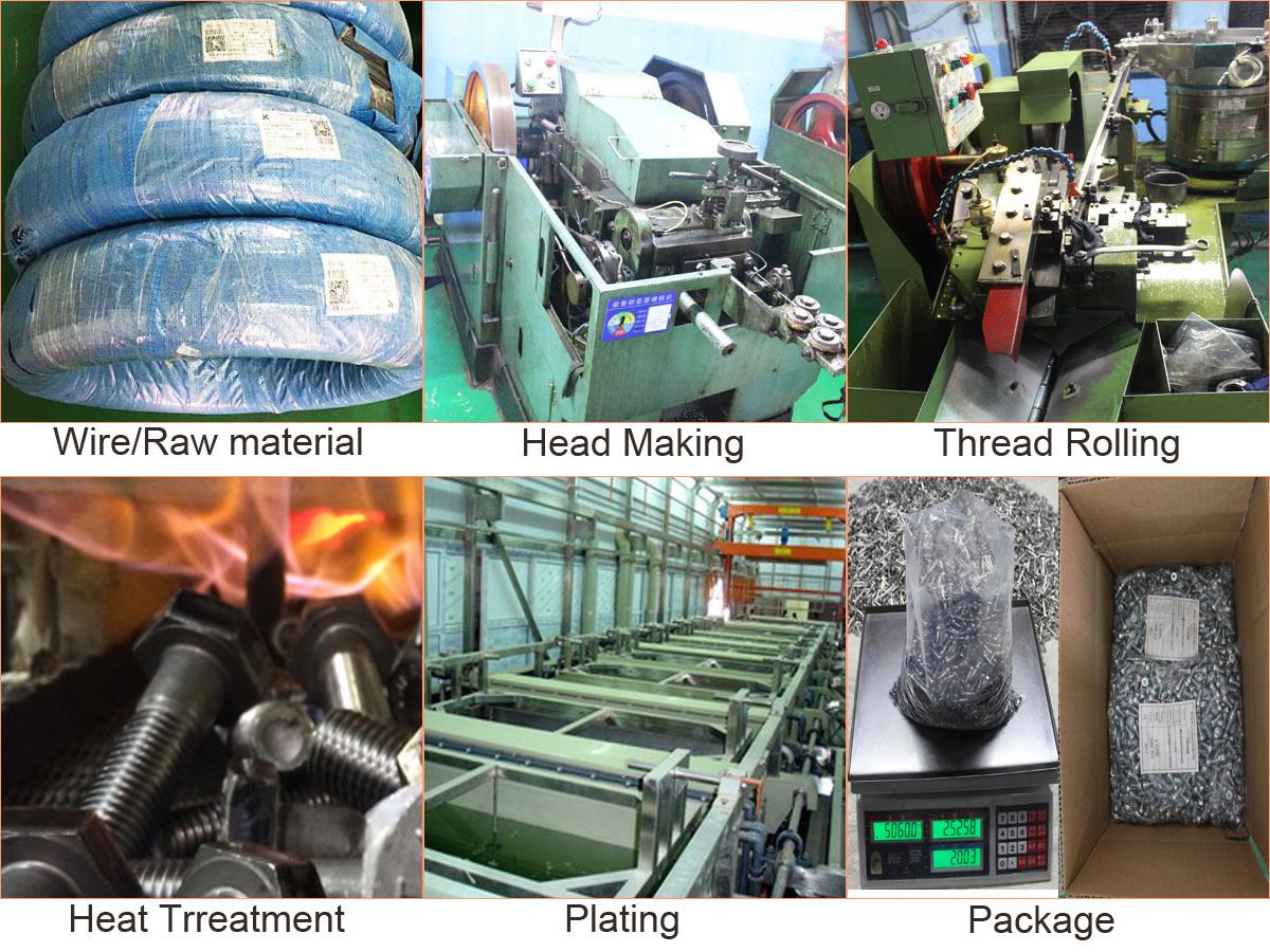 screw manufacture process