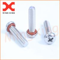 Pan head sealing screws Socket cap stainless steel A2